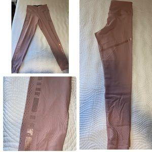 Blush PINK high waisted leggings